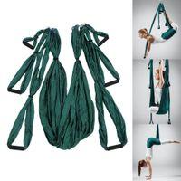 ingrosso swing yoga anti gravità-Antenna Yoga Amaca Yoga Fitness Amaca Paracadute Decompressione Altalena a slitta Inversione anti-gravità