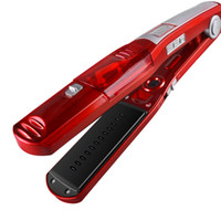 Wholesale digital electric heating for sale - Fast Heating Steam Hair Straighteners Professional Hairstyling Ceramic Hair Straightener Flat Iron Styling Beauty Hair Tool