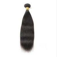 en çok satılan brazilian saç paketleri toptan satış-10a Toptan Brezilyalı Saç Demetleri Bakire Saç 1 Parça Demetleri 8-30 inç Doğal Renk Ücretsiz Nakliye Sıcak Satmak
