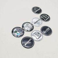 ingrosso emblemi per i tappi del centro ruota-56mm 4 pz / set Mercedes Benz B AMG Melo Carlsson LORINSER Logo Distintivo Ruote Pneumatici Mozzo Cap Center Cover Emblem Sticker