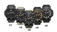 Wholesale choice watches - New fashion multifunctional electronic Popular men's waterproof watch 50mm dial Handsome choice for men's Show a strong character