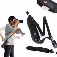 Wholesale quick rapid camera strap - Quick Rapid Carry Speed Sling Strap For Dslr Camera D D Mark II D800 A77 D Mark III D