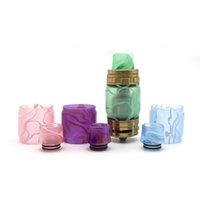 Wholesale drip tips for tanks for sale - Hot TFV12 Prince Resin Expansion Tank Epoxy Acrylic Tube Plus Resin Drip tip Full kit For Tfv12 Prince TFV8 big Baby TFV8 X Baby Tank