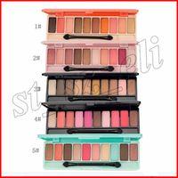 Wholesale ice cream makeup resale online - La meila Colors Eyeshadow Palette Matte Ice Cream Pigmented Metallic Finish Eye Shadow Eyeshadow Makeup styles