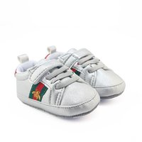 Wholesale baby girl moccasins online - Romirus hot baby boys girts Sneakers sale baby moccasins PU Leather toddler first walker soft soled girls shoes Newborn years