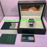 eta 2836 automático venda por atacado-3 Estilo Relógio De Luxo N Fábrica V7 Mens Automático Eta 2836 Assista Men Cerâmica Bezel 116610LN relógios de pulso Relógios Esportivos Relógio de Mergulho
