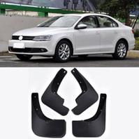 Wholesale vw jetta mk6 accessories online - For Volkswagen VW Jetta Mk6 ABS mud flaps splash guard fender Mudflaps dirtbords Auto Accessories Car Mudguard