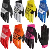 Wholesale yellow mountain bike for sale - 7colors Cycling Motorcycle Racing Gloves Autumn Winter Full Finger Mountain Bike Warm MTB Road Bike Bicycle Anti slip Riding Cycling Gloves