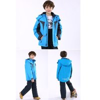 Wholesale design ski jacket resale online - best selling brand design children s Outwear boys outdoor jackets children s ski wear warm jackets cotton coats
