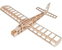 Wholesale Laser Cut Wood Box - RC Plane Laser Cut Balsa Wood Airplane Fixed wing exercise machFrame without Cover Wingspan 1300mm Balsa Wood Model Building Kit