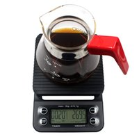 Wholesale digital weighing display resale online - Digital Kitchen Scales LCD Display Food Coffee Weighing Scale With Timer