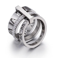 sale trend fashion couples rings titanium stainless steel valentines ring high quality mix wholesale zirconia rings
