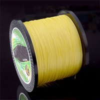 Wholesale strong fishing wire - 500M Long Strong Kite String Fish String PE Braided Fishing Line Nets Wire Cable Kite Line Reel Winder Kites For Adults