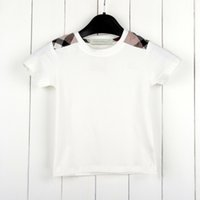 Wholesale retail girl shirt for sale - Wild Retail Girls Kids Clothes Child T Shirt Summer Short Sleeve Tops Tees Fashion Cotton Children Clothes