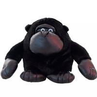 brinquedo do macaco do amor venda por atacado-Brinquedos de pelúcia Orangotango Recheado Bonito Realista Animal Macaco Gorila Chimpanzé Macaco Brinquedo Dia Dos Namorados Presentes Do Amor 28 cm