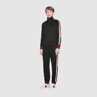 chaqueta de moda asiática de los hombres al por mayor-2019 HOT Men 's Sports Jacket + Pants Sportswear' s hombres de moda Casual sudadera Carta de los hombres Slim Suit Asia Tamaño M-3XL