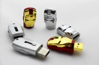 Wholesale Good Usb Drive - NEW 60pcs lot 64GB 128GB 256GB IRON MAN USB FLASH DRIVE SERIES 2.0 STORAGE IRON MAN MEMORY STICK DATA LED DHL good 0-2 free dropshipping