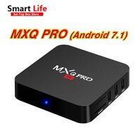 Wholesale android pc smart tv box for sale - 1 RK3229 MXQ PRO K Android smart Boxes Ultimate HD Android7 Smart TV Box Quad Core g g GHz Hardware IPTV