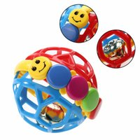 ingrosso palle di attività-Baby Toy Fun Little Loud Bell Ball Giocattolo Baby Ball Sonagli Sviluppare Baby Intelligence Activity Afferrare Toy Hand Bell Rattle