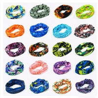 Wholesale high quality brands scarves resale online - Outdoors Cycling Headscarf Seamless Elastic Luxury Brand Designer Magic Scarves Sunscreen Fashion Portable Bandanas High Quality tj Ww