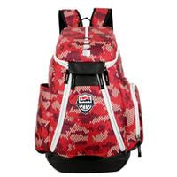 Wholesale laptop backbag online - 2018 Brand Design Men Backpack for School Bag Teenagers Boys Laptop Bag Backbag Man Schoolbag Rucksack Mochila USA Elite Kevin Durant KD