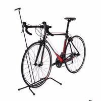 racks cycling al por mayor-Aleación de aluminio Antideslizante Carretera Bicicleta de montaña Rack Bicicleta Bastidores verticales Ciclismo Estacionamiento Bicicleta plegable Rack