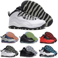 Wholesale nylons online - [With Box] Wholesale Cheap Air 10 Mens Basketball Shoes Sneakers Women Men Online Superstar s X Sport Canvas Real Authentic 41-47