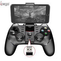 ipad sem fio do gamepad venda por atacado-Ho iPega PG-9076 Sem Fio Bluetooth Gamepad 3em1 Game Controller Game Console Joystick com 2.4G para PS3 IOS Android Celular iPhone PC TV