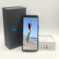 Wholesale i7 ram - Goophone 3G note 8 6.2inch MTK6580 Unlocked cell phone Quad Core Android 7.0 1G Ram 4G Rom with I7 earphone