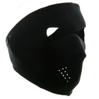 máscara de esqui de neoprene de rosto cheio venda por atacado-Ciclismo Esqui Caminhadas Caça 2 em 1 Neoprene Reversível Máscara Facial Por Atacado new Hot Vende