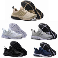 Wholesale wolf table - 2018 New Presto Ultra SE Woven Midnight Navy Wolf Grey Sand Women Mens Basketball Running Designer Shoes Trainers Sneakers