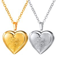 Wholesale gemini pendants - Gemini Constellation Lockets Necklaces 18K Gold Platinum Plated Lover's Jewelry Gifts Long Chain Heart Pendants