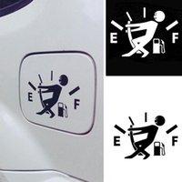 ingrosso tappi di cranio in plastica-10CM * 14CM Adesivi per auto divertenti Consumo elevato di gas Adesivo per decalcomania Gage Adesivi vuoti Adesivi per auto in vinile JDM Car Styling