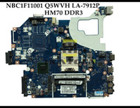 Wholesale laptop motherboards online - High quality Q5WVH LA P for ACER Aspire V3 E1 Packard Bell EasyNote TE11 laptop motherboard NBC1F11001 Fully tested