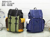 Wholesale backpack faux leather - hot Sell New Arrival Fashion Women School Bags Hot Punk style Men Backpack designer Backpack PU Leather Lady Bags luggage bag
