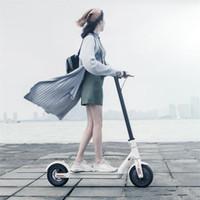 scooters électriques adultes achat en gros de-Scooter original xiaomi 2 roues Smart Scooter électrique Skate Board adulte pliable Hoverboard M365 30km Life Mijia avec DHL en stock