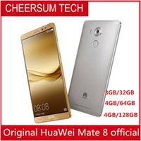 Wholesale android phone huawei touch online – unlocked Global Firmware HuaWei Mate G LTE Smart Phone Kirin Android quot FHD GB RAM GB ROM MP Touch ID NFC huawei phone