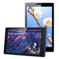 Wholesale lenovo tablet online - Lenovo TB3 F inch Android MT8161 Quad Core GHz GB GB MP MP Dual Cameras GPS BT Tablets PC