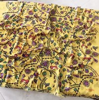 ingrosso pashmina invernale gialla-Donne di lusso Inverno caldo grandi scialli di Pashmina Francia Marca Poncho Stola Stampa gialla Joker Pashmina Cashmere 200 * 100 cm