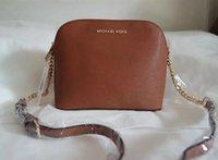 Wholesale Crocodile Leather Bags - SALE 2018 New Brand Designer Women Female Shoulder Bag Crossbody Shell Bags Fashion Small Messenger Bag Handbags PU Leather #225