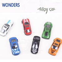 Wholesale miniature christmas toys wholesale - New diecast metal car model Alloy car scale models 1 72 diecast miniatures Alloy Educational Toys Christmas gift