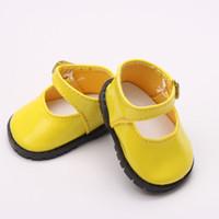 amerikanische babyschuhe großhandel-Doll Schuhe, Bue Sport Freizeit Puppe Schuhe für 18