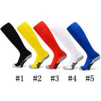 Wholesale Black Sock Yarn - hot sale World Cup soccer socks adult kids non-slip outdoor soccer socks Buy Kids Club long knee exercise training socks