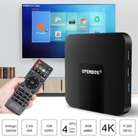 Wholesale Hd Wheels - Genuine OPENBOX VX Android IPTV Box 1G 8G QuadCore Wifi Build in Same as MAG250 254 256 with Stalker IPTV Wheel TV Application