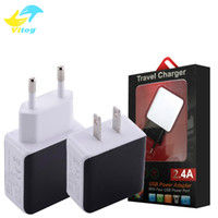 Wholesale 9v Adapter - QC2.0 High quality real Fast Charger Travel Adapter 9V 1.67A Fast Flash Quick Speed Charger For US EU Plug