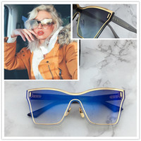 Wholesale silica metal - SILICA Sunglasses New Popular Brand Ultra light Metal Rimless Mirror lens Design Sunglasses Top grade Elegant style Come with box