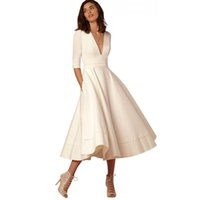 Wholesale mermaid dresses united states for sale - Group buy Europe and the United States high end autumn and winter new sexy deep V sleeve dress explosion models long dress