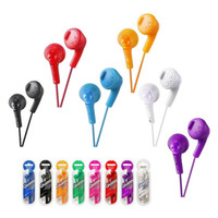 Wholesale wired dj headphones for sale - Gumy Gummy Earphone Earbuds HA F160 HA F160 Bass DJ Earphone mm Headphone without MIC For Iphone Ipad Samsung HTC with retail package