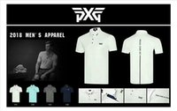 Wholesale polo club - PXG golf T-shirt Polo outdoor sport T shirt golf clubs clothes clothing hat pants wedge driver fairway