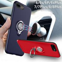 telefon fall auto mount großhandel-Magnetische TPU-Softshell-Handyhülle Autotelefonhalterung Patch-Unterstützung Schutzhülle Auto-Telefon-Crash-Proof-Shell
